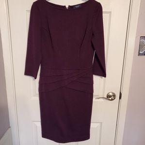 Chaps purple dress